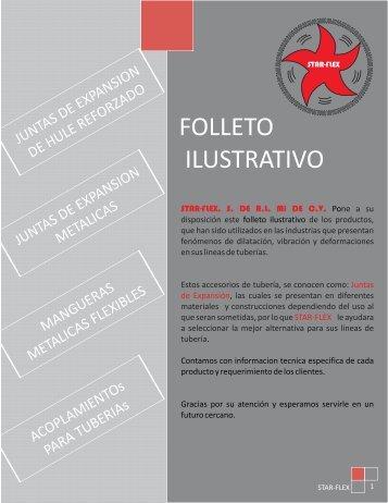 FOLLETO STARFLEX QUIMINET - QuimiNet.com
