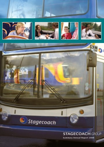 Summary Annual Report 2006 - Stagecoach Group