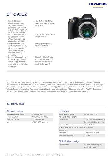SP-590UZ, Olympus, Compact Cameras