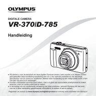 Handleiding VR-370/D-785 - Olympus