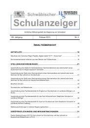 Februar 2013 - Regierung von Schwaben - Bayern