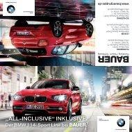 """ALL-INCLUSIVE"" INKLUSIVE. Der BMW 114i ... - Albert Bauer GmbH"