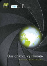 Our Changing Climate (PDF, 2 MB) - Met Office