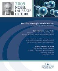 Nobel Symposium Book 2009 - Charles E. Schmidt College of ...