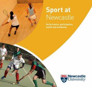 Sport at Newcastle - Newcastle University