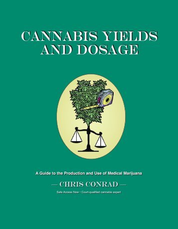 cannabis yields and dosage cannabis yields and dosage - Online Pot