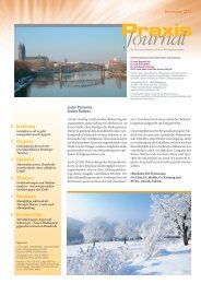 Ausgabe 23 / 2011 - Schwerpunktpraxis für Hämatologie und ...