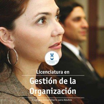 Licenciatura en Gestión de la Organización - Universidad del Azuay