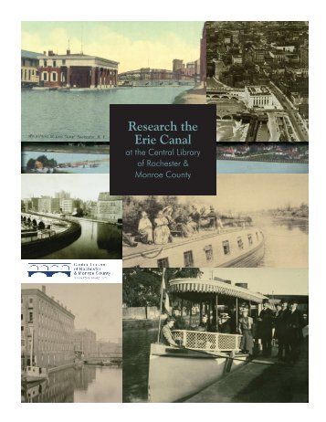 Research the Erie Canal - Monroe County Library System