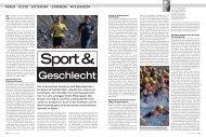 Sport & Geschlecht - Sportklinik Basel