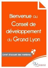 Télécharger le livret d'accueil des membres du ... - Grand Lyon