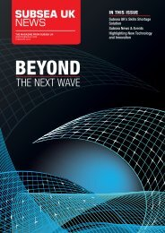 THE NEXT WAVE - Subsea UK
