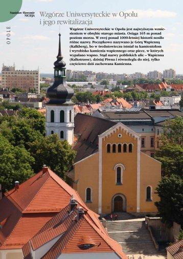 Wzgórze Uniwersyteckie w Opolu i jego rewitalizacja - Opole