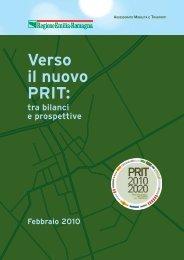 Verso il nuovo PRIT: tra bilanci e prospettive - Mobilità - Regione ...