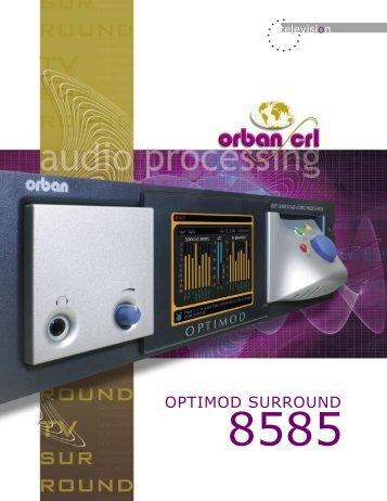 Optimod 8585 Brochure - Orban