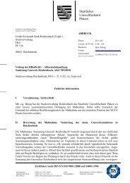 Staatliches Umweltfachamt Plauen - BAUER Umwelt GmbH