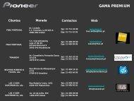 GAMA PREMIUM - Pioneer