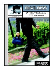 DeVilbiss® Professional ENT Instruments