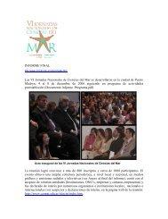 Informe Final - Secretaria de Ambiente y Desarrollo Sustentable