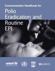 Communication Handbook for Polio Eradication and ... - basics