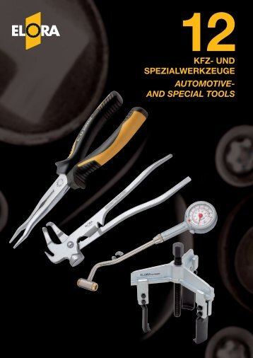 AND SPECIAL TOOLS - Yew Aik