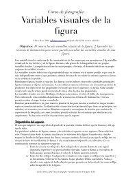 ut4-4 Variables visuales de la figura - Paco Rosso, fotografía
