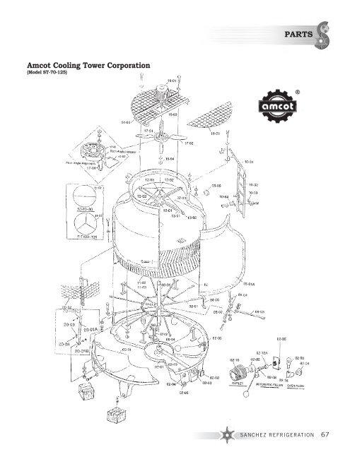 Parts Amcot Cooling Tower Corporation Sanchez Refrigeration