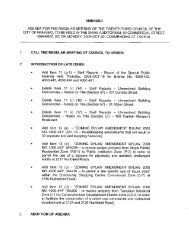 Scanned Council Agenda - October 20, 2008 - the City of Nanaimo