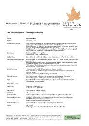140 Holzbodenseife 1109-Pflegeanleitung - Parkett Naturnah