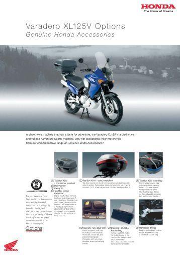 Varadero XL125V Options - Doble Motorcycles