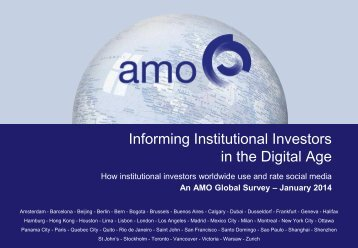 AMO-II-SoMe-Survey-21-Jan-2014