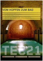 Artikel_tec21_Hopfen zum Bad.pdf - Baumann Akustik und ...
