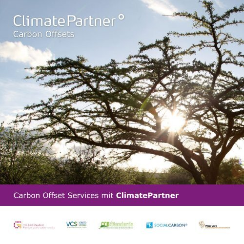 Carbon Offset Services mit ClimatePartner