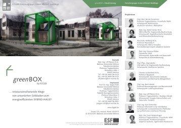 Download Flyer (PDF) - InfAR - Bauhaus-Universität Weimar