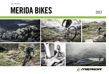 Katalóg bicyklov MERIDA 2013 SK [PDF 26.4 MB]