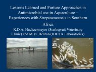 Lessons Learned and Furture Approaches in Antmicrobial use ...