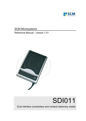 SCL3711 - SCM Microsystems, Inc.