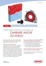 Flyer Kit Frizione - Corteco