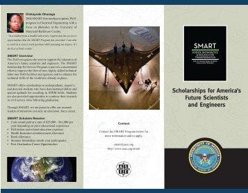 SMART brochure - University Graduate School