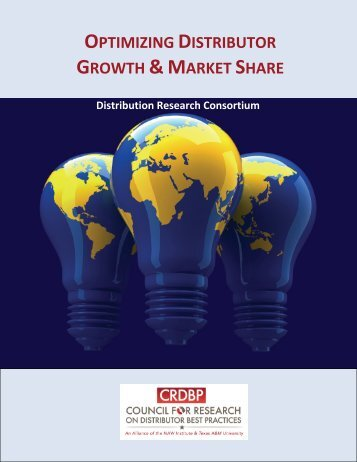 optimizing distributor growth &market share - National Association of ...