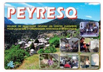 village de montagne devenu un centre européen pour la culture
