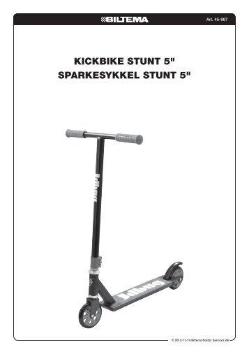 "KicKbiKe Stunt 5"" SparKeSyKKel Stunt 5"" - Biltema"