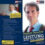 LEISTUNG - ÖVP Kärnten