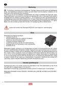 DEFA MultiCharger 1203 Bruks-/Monteringsanvisning - Page 3