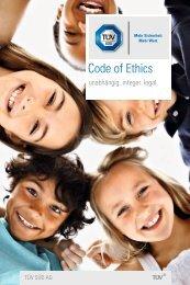 Code of Ethics - TÜV Süd