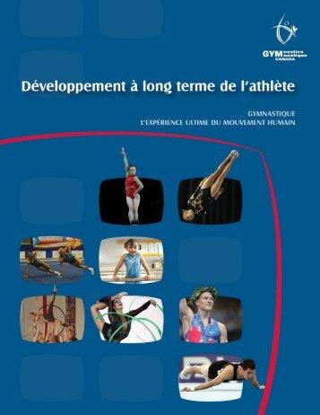développement à long terme de l'athlète en gymnastique