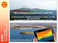 Wind Resource Assessment with CFD - EMD International AS.