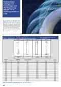 Anschlagseile Seilgehänge Laufende Seile Stehende Seile Seil ... - Seite 2