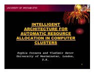 intelligent architecture for automatic resource allocation in computer ...