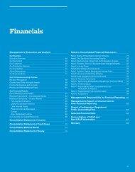 Financials - PepsiCo